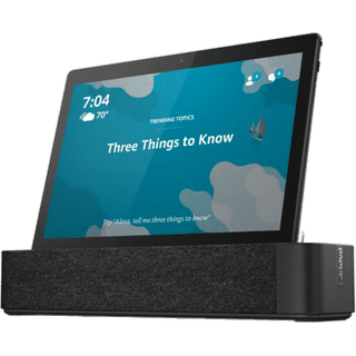 Lenovo Smart Tab M10 inklusive Bluetooth Speaker Dock Wi-Fi Schwarz 32GB