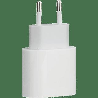 Apple 20W USB C Power Adapter Weiß Frontansicht