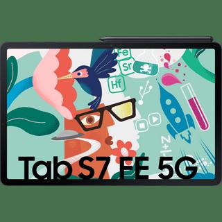 Samsung Galaxy Tab S7 FE 5G Schwarz 64GB