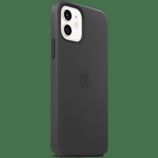 Apple iPhone 12|12 Pro Leather Case mit MagSafe Schwarz