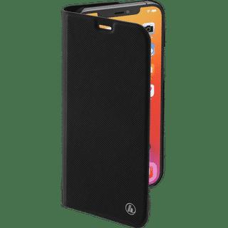Hama Booklet Slim Pro für Apple iPhone 12|12 Pro Schwarz Frontansicht