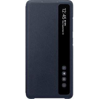 Samsung Clear View Cover EFZG780 für Galaxy S20 FE Blau Frontansicht