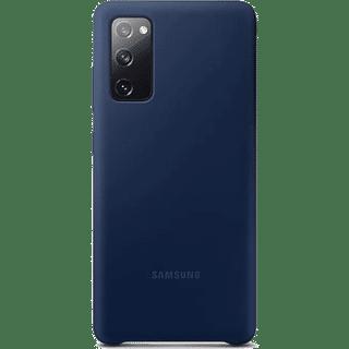 Samsung Silicone Cover EFPG780 für Galaxy S20 FE Blau Frontansicht
