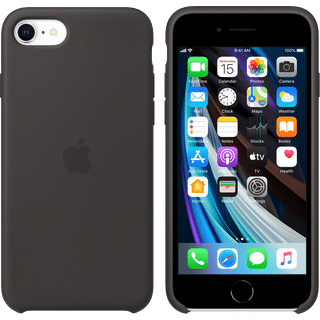 Apple iPhone SE 2020 Silicone Case Schwarz