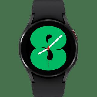 Samsung Galaxy Watch 4 Aluminium Bluetooth Schwarz 40.00 Frontansicht