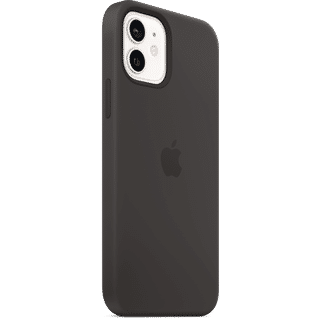 Apple iPhone 12|12 Pro Silikon Case mit MagSafe Schwarz