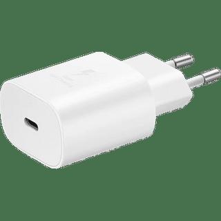 Samsung Schnellladegerät EPTA800N USB C Weiß Frontansicht
