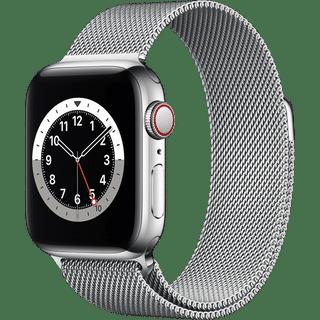 Apple Watch Series 6 GPS + Cellular Edelstahl Silber 40.00