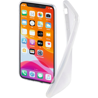 Hama Cover Crystal Clear für Apple iPhone 12|12 Pro Transparent Frontansicht