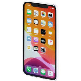 Hama Cover Crystal Clear für Apple iPhone 12|12 Pro Transparent